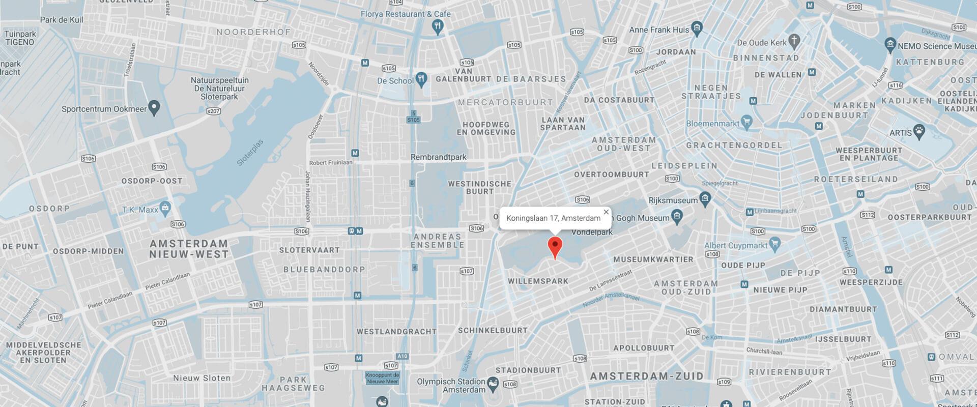 Viotta Law - Map Address